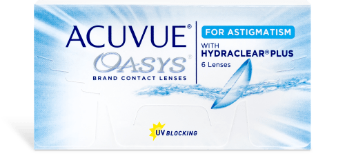 Acuvue Oasys for Astigmatism (Annual Supply of 8 Boxes)