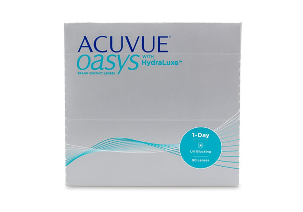 Acuvue Oasys 1-Day HydraLuxe (Annual Supply of 8 Boxes)