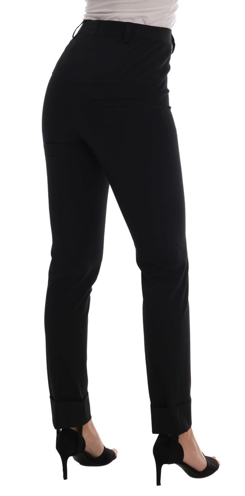 Black Stretch Leggings Pants