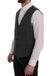 Gray STAFF Cotton Rayon Vest
