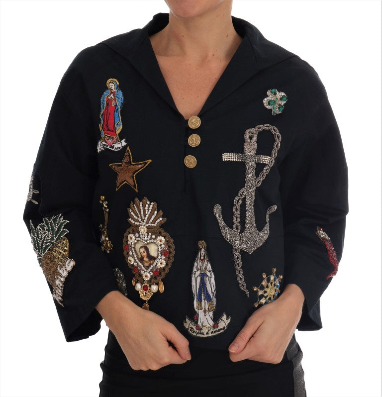Blue Crystal MAMMA Sicily Jacket