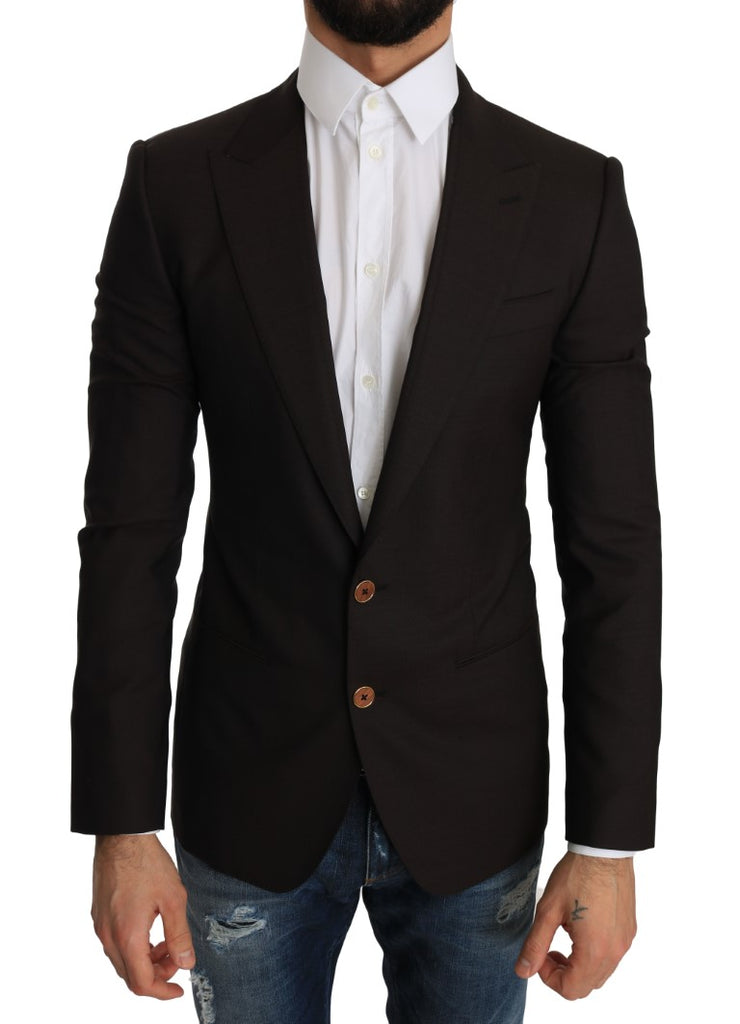 Brown Wool SICILIA Jacket Coat Blazer