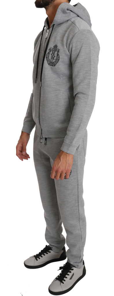 Gray Sport Sweater Pants Tracksuit