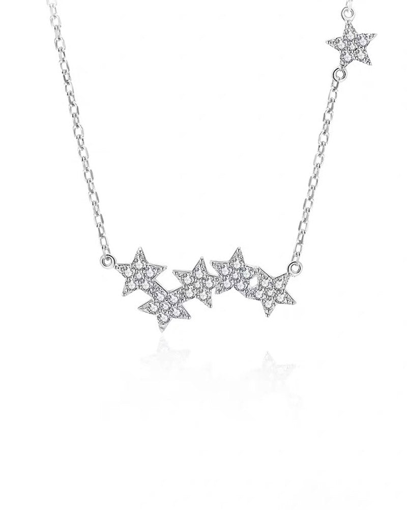 Stars Pendant Necklace