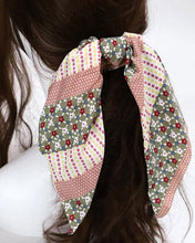 Load image into Gallery viewer, Floral Mixed Colors Hair Scarf