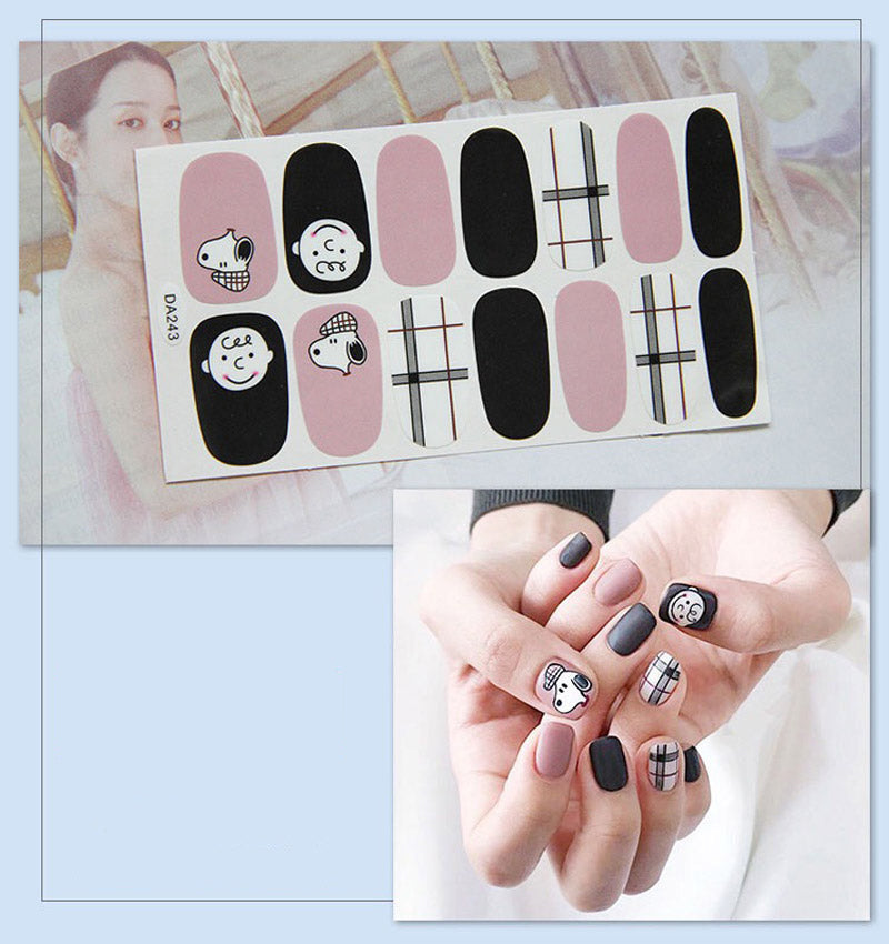 Gel Nail Stickers - Cartoon Character