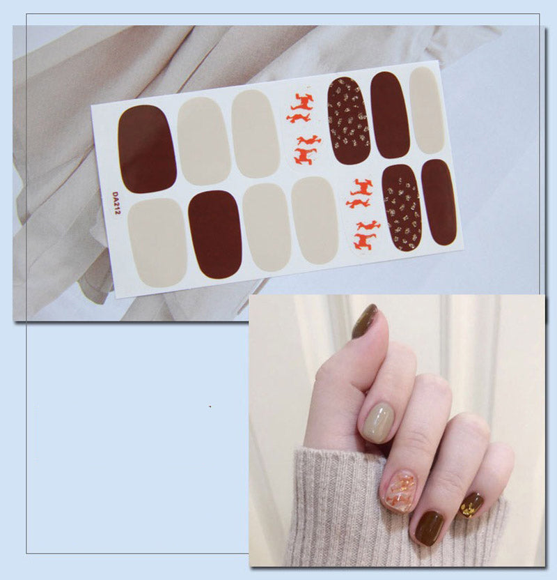 Gel Nail Stickers - Crack