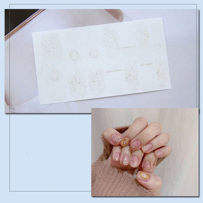 Gel Nail Polish Stickers - Finger Print