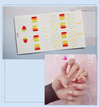 Load image into Gallery viewer, Gel Nail Sticker - Rainbow