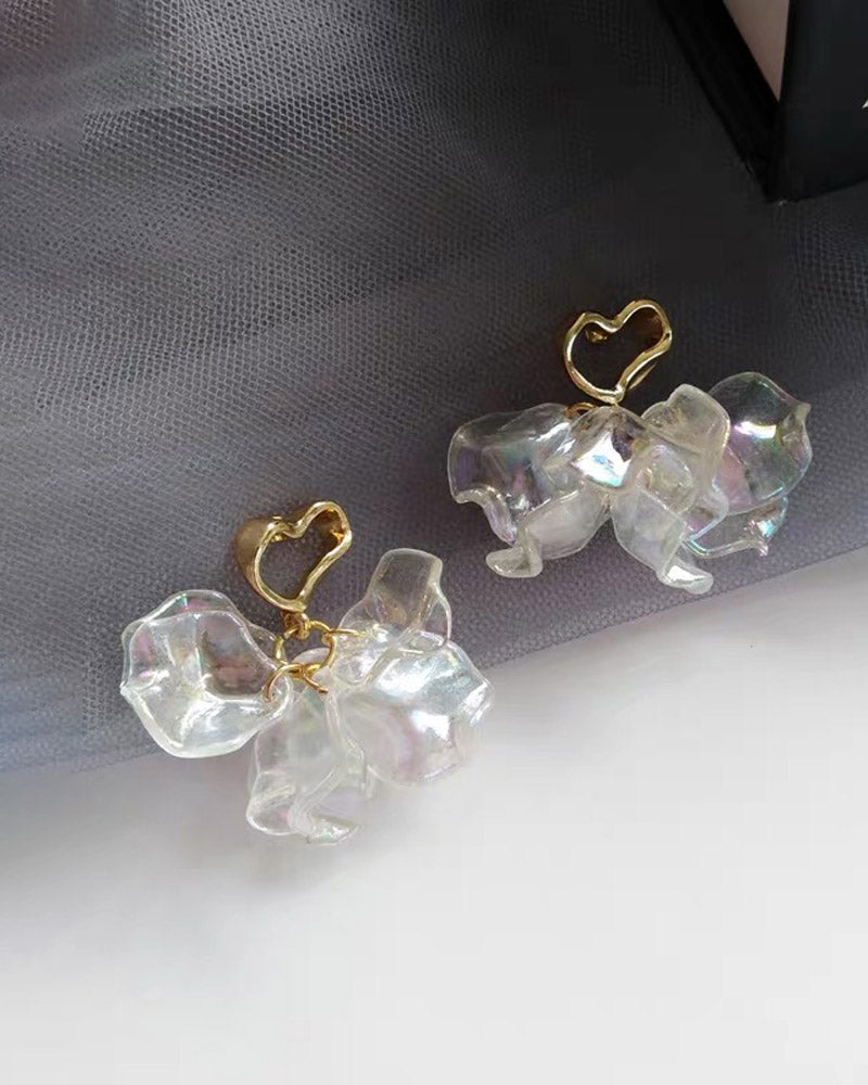 Fairy Petal Post Earring
