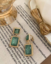 Load image into Gallery viewer, Retro Square Earring