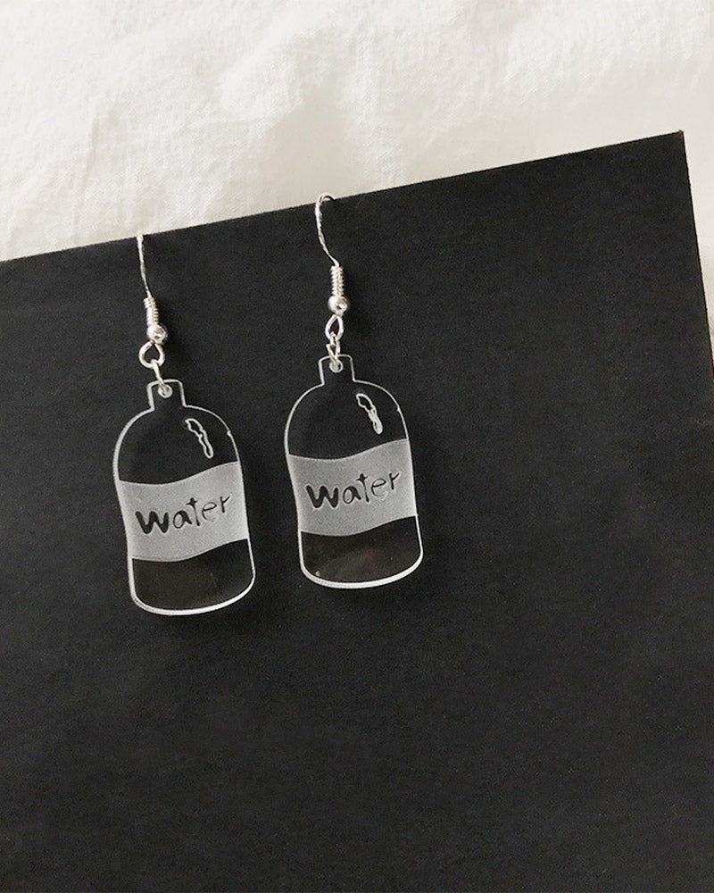 Water Bottle Earring