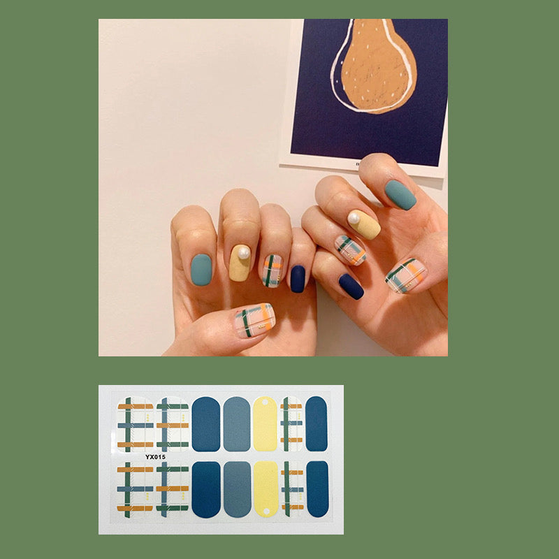 Gel Nail Polish Stickers - Decals Strips