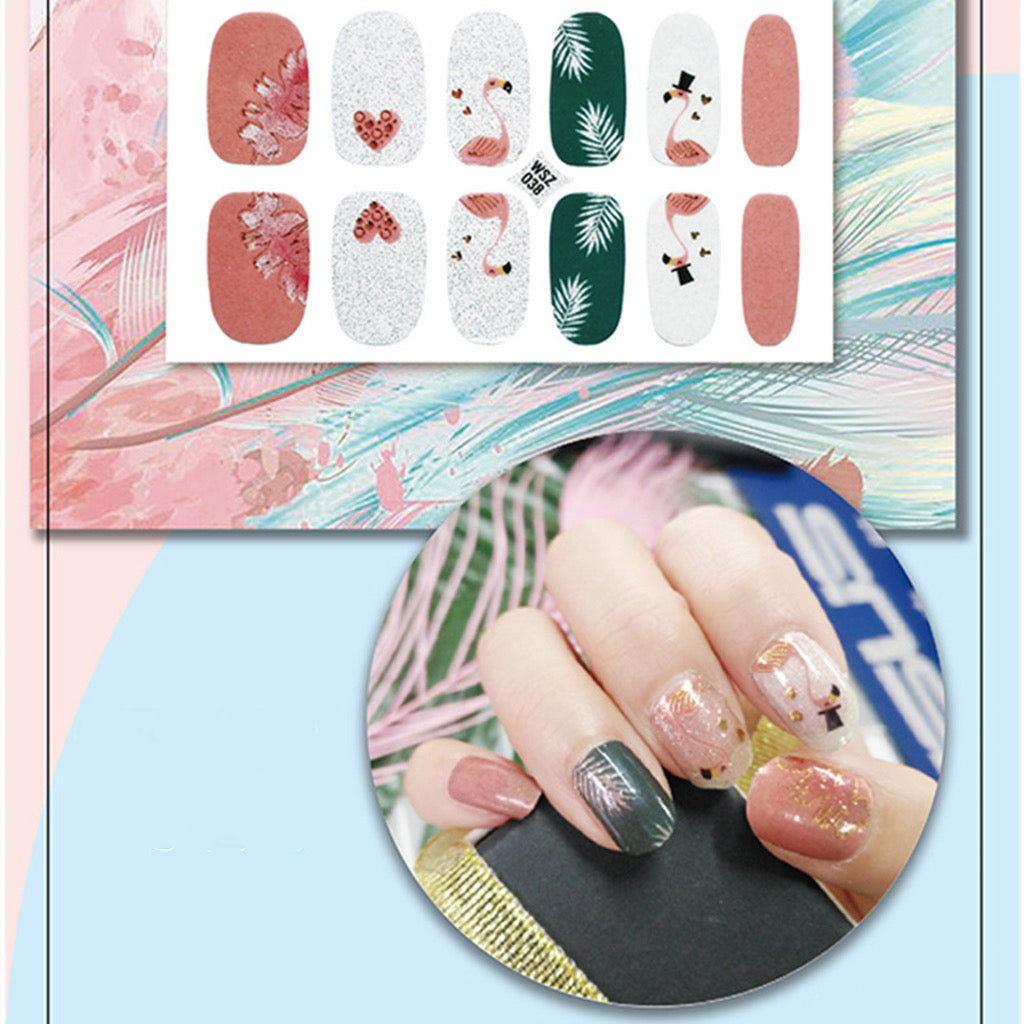 Gel Nail Polish Stickers-3D Lace Adhesive