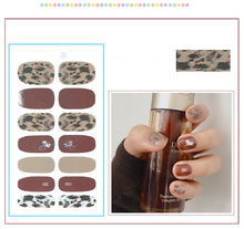 Load image into Gallery viewer, Gel Nail Polish Stickers - Tiger Print