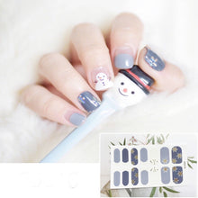 Load image into Gallery viewer, Gel Nail Polish Stickers - Smiley Printed