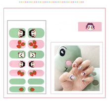 Load image into Gallery viewer, Gel Nail Polish Stickers - Cute Doll Face