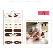 Load image into Gallery viewer, Gel Nail Polish Stickers- Variant Printed