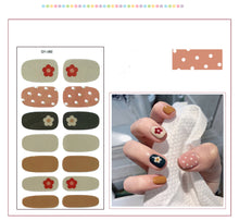Load image into Gallery viewer, Gel Nail Polish Stickers -Flower Series