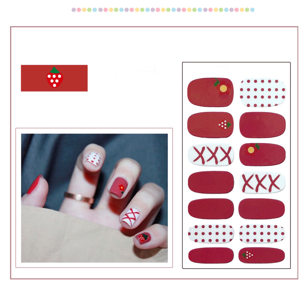 Gel Nail Polish Stickers -Festive Gifts