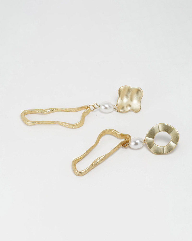Asymmetric Irregular Earring