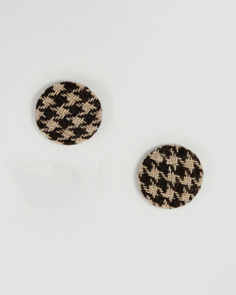 Button Post Earring