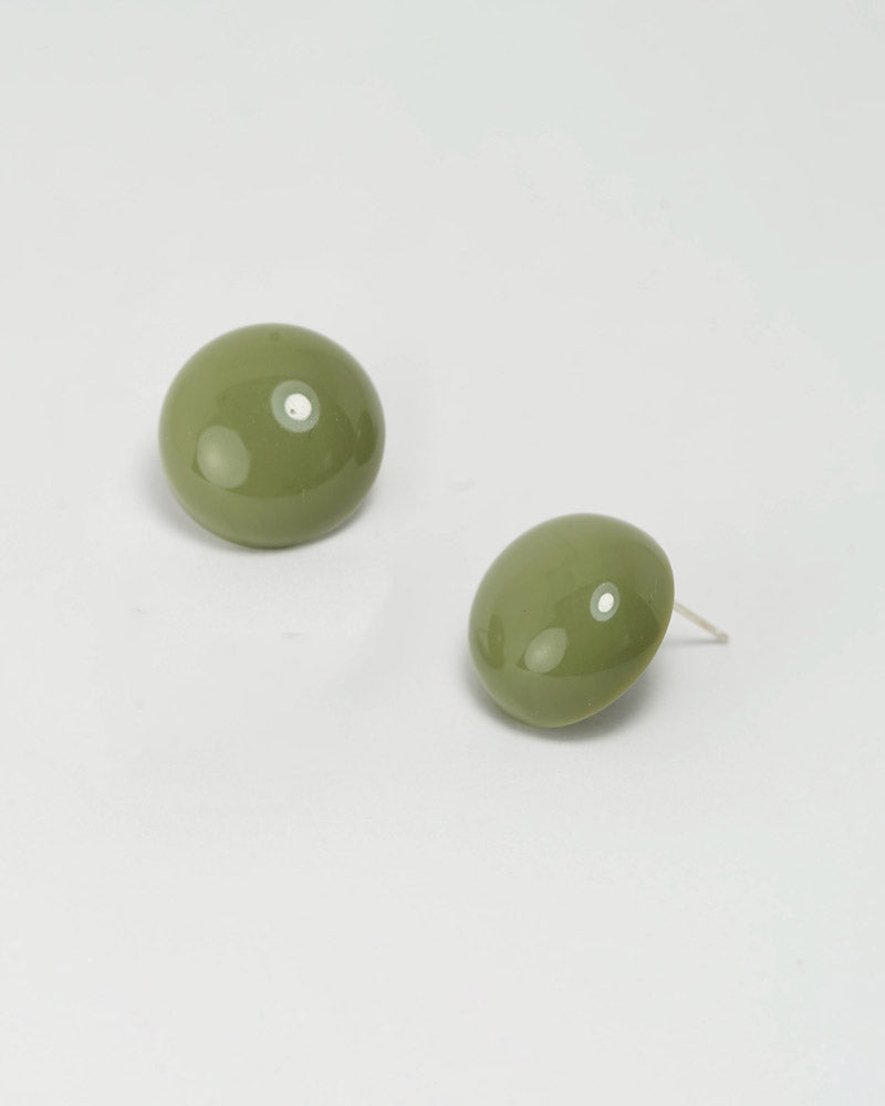 Acrylic Dot Post Earring