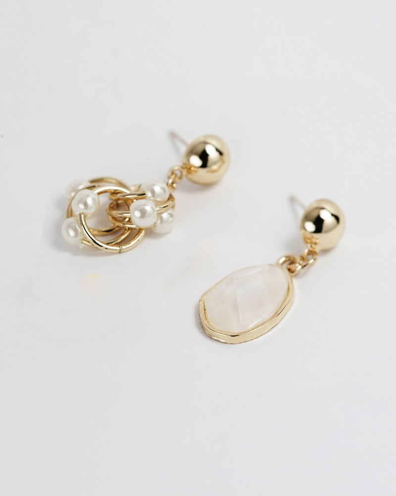 Pearl Unique Earrings