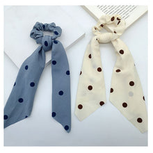 Load image into Gallery viewer, Polka Dot Hair Scarf