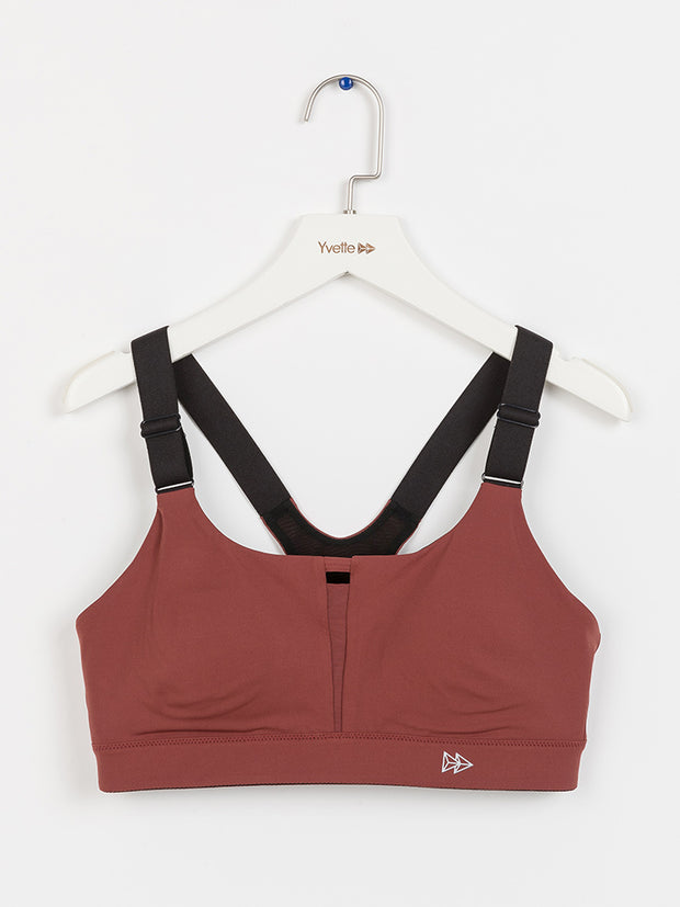 Yvette High Impact Support Sports Bra E100287A08