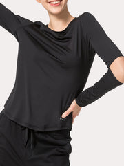 Wholesale Yvette Women's Fitness Yoga T-shirt E120052A