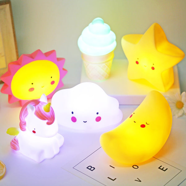 Cute baby night light (Astronomy Edition)