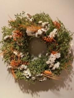 Dried Flower Mixed Wreath