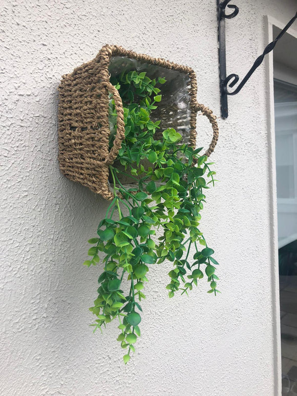 Autumn Small Wicker Planter