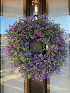 Full Heather wreath