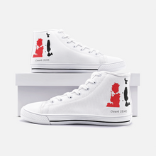 Load image into Gallery viewer, Unisex High Top Canvas Shoes