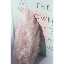 Load image into Gallery viewer, Rose Quartz Bookends