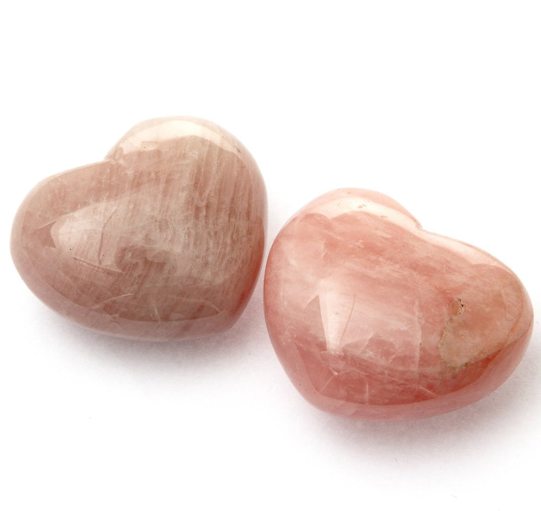 Rose Quartz Heart Medium