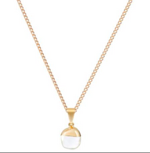 Load image into Gallery viewer, Decadorn Gold Mini Tumbled Pendant - Quartz