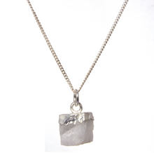 Load image into Gallery viewer, Decadorn Silver Birthstone Pendant - June Moonstone