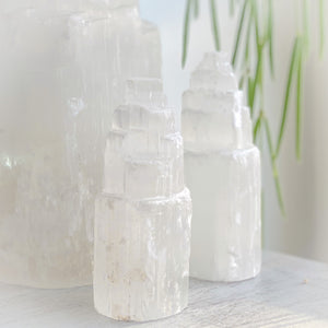 Selenite Mini Towers