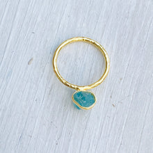 Load image into Gallery viewer, Apatite Ring (size 54/N)