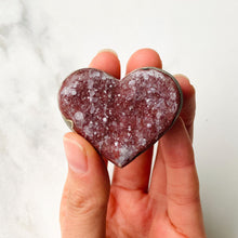 Load image into Gallery viewer, Amethyst Heart Cluster (4cm)