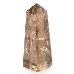 Smokey Quartz Crystal Water Bottle (available in Bamboo & Stainless Steel)