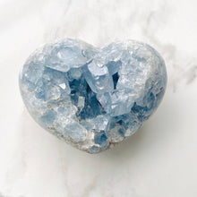 Load image into Gallery viewer, Celestite Heart (8cm)