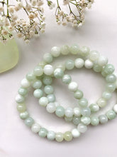 Load image into Gallery viewer, Green Jade Beaded Bracelet