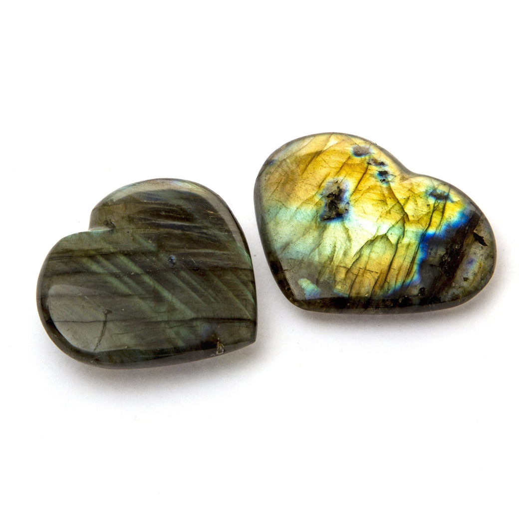 Labradorite Heart Medium