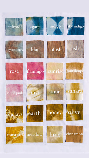 naturally dyed face mask - earthen yourself