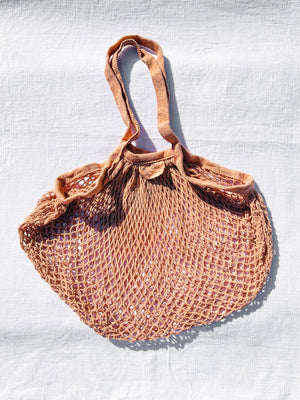 naturally dyed cotton bags - earthen yourself