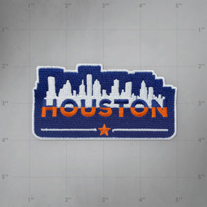 Houston Skyline - Embroidered Patch